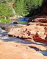 Slide Rock State Park, Oak Creek Canyon, AZ 9-15a (22175962568).jpg