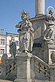 Sloup se sousoším Nejsvětější Trojice naKrakonošově náměstí v Trutnově 08.JPG