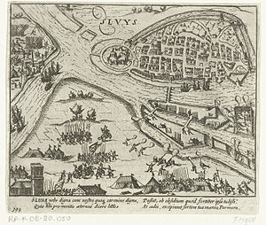 Siege of Sluis (1587) - Image: Sluis 1586 1