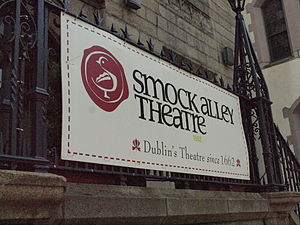 Smock Alley Theatre - Smock Alley Theatre sign