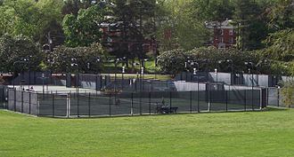 Sheridan Snyder Tennis Center - The Snyder Center courts