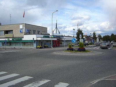 Sodankylä centrum