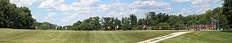 Horsham, Pennsylvania - Image: Softball game in Horsham, Pennsylvania