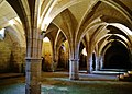 Soissons Abbaye Saint-Jean-des-Vignes Refectoire Innen Keller 1.jpg