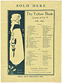 Sold here. The Yellow Book. Contents of Vol. VI, July, 1895.jpg