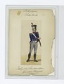 Soldier in uniform - Blue jacket with red and white accents, grey pants (NYPL b14896507-85502).tiff