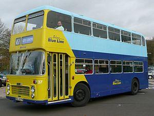 Bluestar (bus company) - Solent Blue Line branded Bristol VR