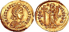 Solidus of Galla Placidia, AD 425-426.jpg