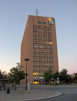 Sollentuna Municipality - Turebergshuset, municipal building