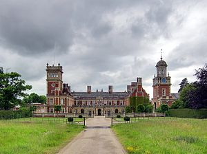 Somerleyton Hall - Somerleyton Hall entrance