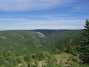 Cape Breton Highlands - Image: Sommet Parc national des Hautes Terres du Cap Breton