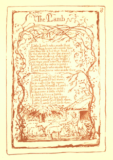 Songs of Innocence and Experience, page 8 (Ellis facsimile).png