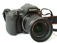 Sony a 350 with 18-70 kitlens.JPG