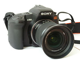 Image illustrative de l'article Sony Alpha 350