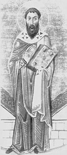 Sophronius of Jerusalem Patriarch of Jerusalem
