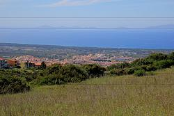 Panorama from Sennori