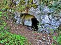 Sortie de l'ancienne galerie de drainage du Rognon.jpg