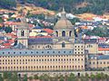 South facade of the Monastery of San Lorenzo de El Escorial, Madrid, España, 2016 06.jpg
