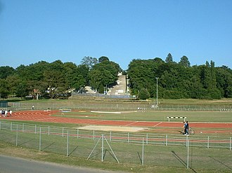 Bassett, Southampton - Southampton Sports Centre (with the Snowsports Centres visible at the rear)