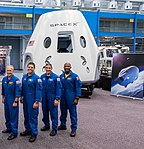 SpaceX Dragon 2 and astronauts 2018.jpg