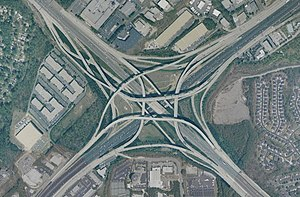 The Tom Moreland Interchange in DeKalb County,...