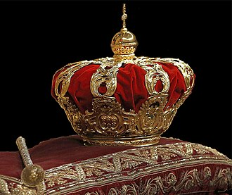 Monarchy of Spain - Spanish Royal Crown and Scepter