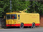 Spb Freight trolley in 2nd depot at Arsenalnaya Street.jpg