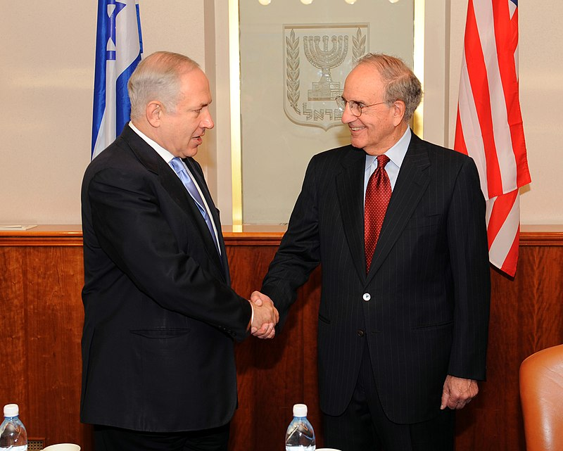 Special Envoy Mitchell Meets With Israeli Prime Minister (4063444149).jpg