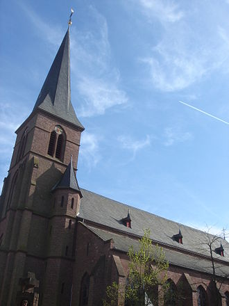 Speicher, Germany - Parish Church of St. Philippus and St. Jakobus