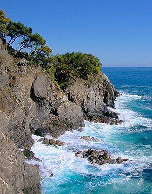 Liguria - A view of Cinque Terre.