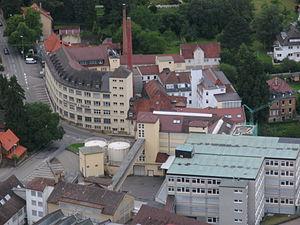 Triumph International - corporate building in Heubach (2011)