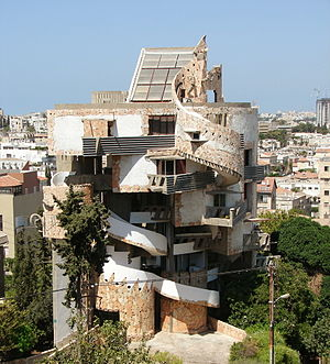 Zvi Hecker - The Spiral Apartment House in Ramat Gan