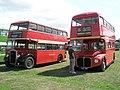 Splendid red buses at the 2009 Gosport Bus Rally - geograph.org.uk - 1425364.jpg