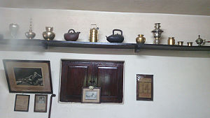 Sri Ramana Ashram - Some personal use objects of Ramana Maharishi.