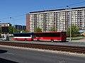 Střelničná, zastávka Ládví, autobusy Arriva Praha.jpg