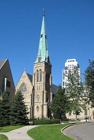 St. Michael's College, Toronto -  St. Basil's Church, the college parish
