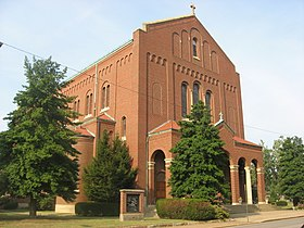 Image illustrative de l'article Cathédrale Saint-Benoît d'Evansville