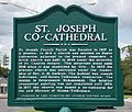 St. Joseph Co-Cathedral Historical Marker - Thibodaux, Louisiana.JPG