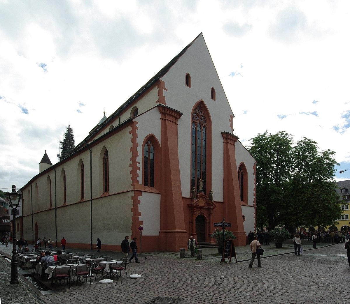 Where Is St Martin >> St. Martin (Freiburg-Altstadt) – Wikipedia