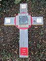 St. Maximilian Kolbe, Houston, Texas, cross.JPG