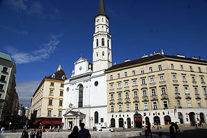 St. Michael's Church, Vienna - Image: St. Michael's Church Vienna 3