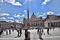 St. Peter's Square and Basilica (Ank Kumar) 01.jpg