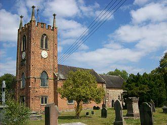 Seighford - St Chad's parish church