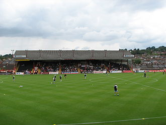 St James Park (Exeter) - Image: St James Park Old Grandstand