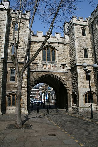 St John's Gate, Clerkenwell - St John's Gate, Clerkenwell