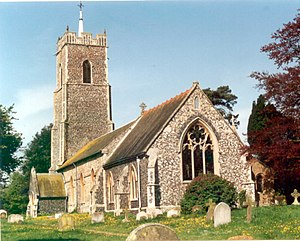 Campsea Ashe - Image: St John the Baptist Church, Campsea Ashe geograph.org.uk 64611