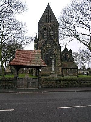 Carlton, South Yorkshire - Image: St John the Evangelist geograph.org.uk 134657