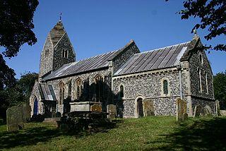 Flixton, The Saints a village located in Waveney, United Kingdom