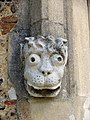 St Mary's Church Latton - Label head from west doorway - geograph.org.uk - 373616.jpg