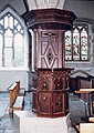 St Mary, Carisbrooke - Pulpit - geograph.org.uk - 1171903.jpg